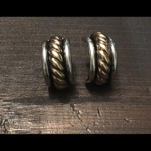 James Avery 14k/ sterling silver Earrings